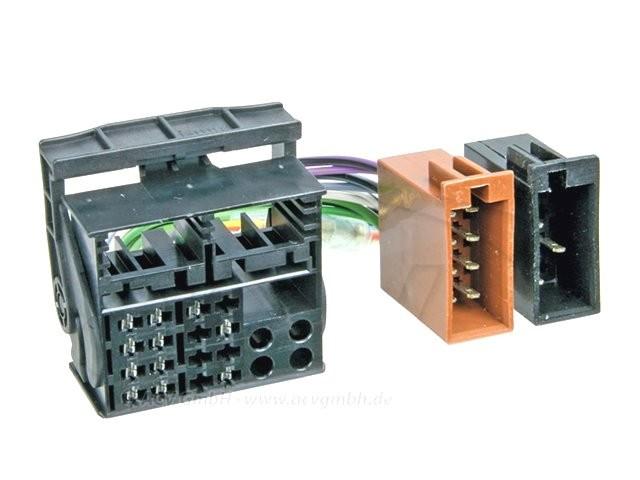 переходник-разъем 321324-02 для магнитолы vw/ audi/ skoda