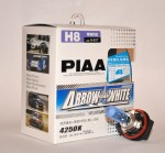 Автолампы PIAA Arrow Star White H8 4250K комплект 2шт