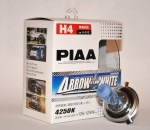 Автолампы PIAA Arrow Star White H4 4250K комплект 2шт