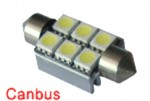 IDIAL 449 T10 6Led 5050 SMD CAN (2шт)