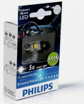 Лампа светодиодная Philips Festoon Vision LED T10.5x38, 4000K, 1шт/блистер 128584000KX1