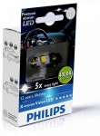 Габарит Philips Festoon Vision LED T10.5x43, 4000K, 1шт/блистер 129454000KX1