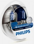 Лампа накаливания Philips H11 Diamond Vision 5000K 2шт в блистере 12362DVS2