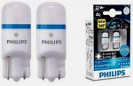 Лампа светодиодная Philips W5W X-Treme Vision LED, 8000K, 2шт/блистер 127998000KX2