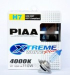 Автолампы PIAA Etreme White Plus H7 4000K комплект 2шт